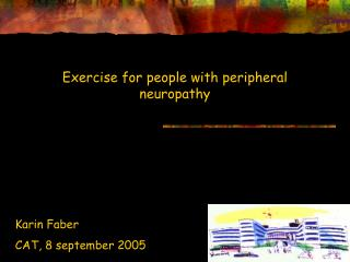 Exercise for people with peripheral neuropathy