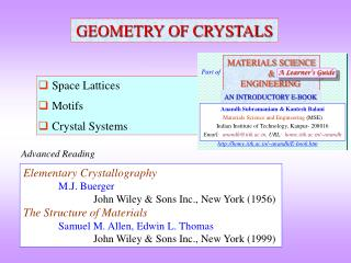 GEOMETRY OF CRYSTALS