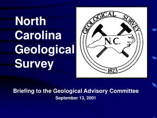 North     Carolina     Geological     Survey