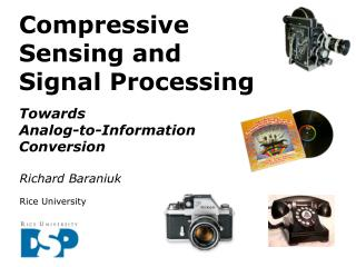 Compressive Sensing and  Signal Processing Towards Analog-to-Information Conversion