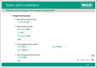 Pumps and systems for house and garden