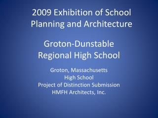 Groton-Dunstable Regional High School