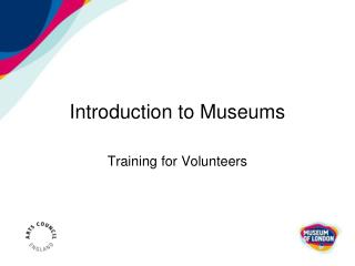 Introduction to Museums