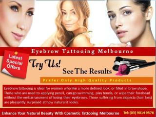 Eyebrow Tattooing Melbourne