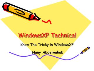 WindowsXP Technical