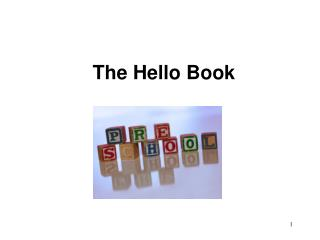 The Hello Book