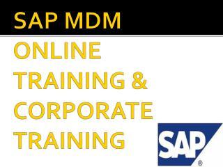 sap mdm online training in sweden,denmark