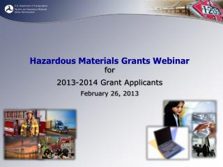Hazardous Materials Grants Webinar