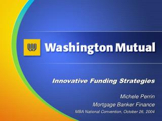 Innovative Funding Strategies
