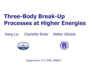 Three-Body Break-Up  Processes at Higher Energies