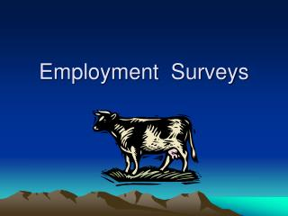 Employment  Surveys