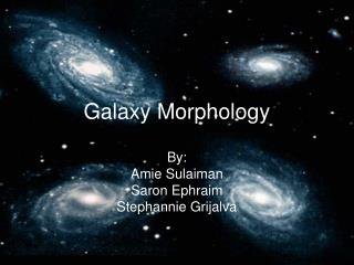 Galaxy Morphology