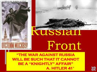 The Russian Front