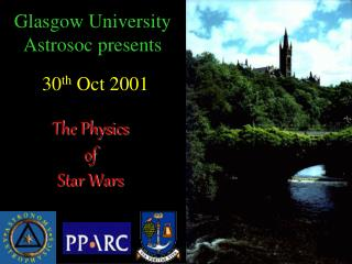 Glasgow University Astrosoc presents