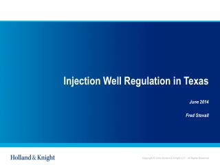 Injection Well Regulation in Texas
