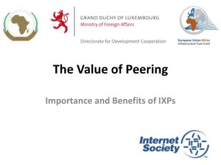 The Value of Peering