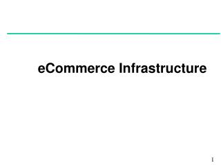 eCommerce Infrastructure