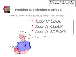 Packing  Shipping Seafood