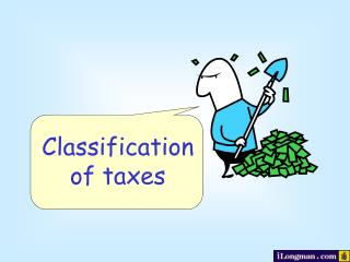 Classification of taxes