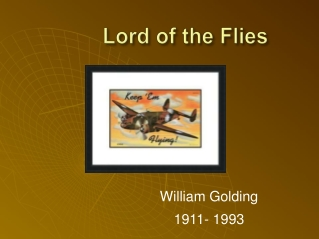 About William Golding