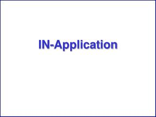 IN-Application