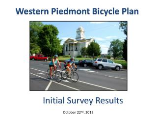Western Piedmont Bicycle Plan