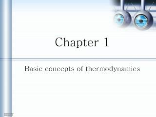 Chapter 1 Basic concepts of thermodynamics