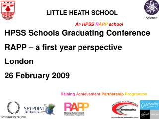 Raising Achievement Partnership Programme