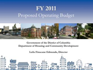 FY 2011 Proposed Operating Budget