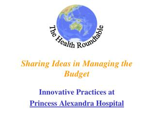 Sharing Ideas in Managing the Budget
