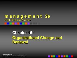 The Process of Organizational Change