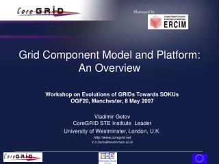 Grid Component Model and Platform: An Overview