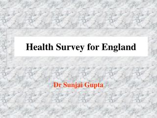 Health Survey for England