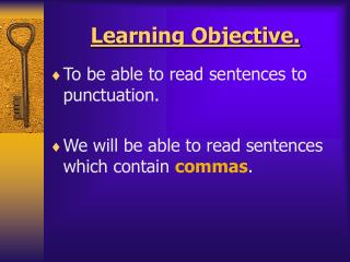 Learning Objective.