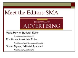 Meet the Editors-SMA