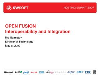 OPEN FUSION Interoperability and Integration