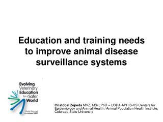 Education and training needs to improve animal disease surveillance systems