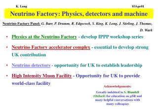 Neutrino Factory: Physics, detectors and machine