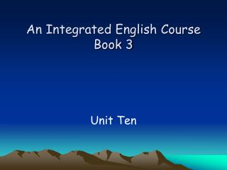 An Integrated English Course Book 3