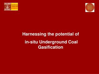 Harnessing the potential of  in-situ Underground Coal Gasification