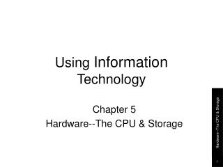 Using  Information  Technology