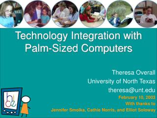 Technology Integration with Palm-Sized Computers