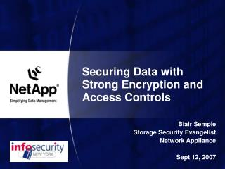 Securing Data with Strong Encryption and Access Controls