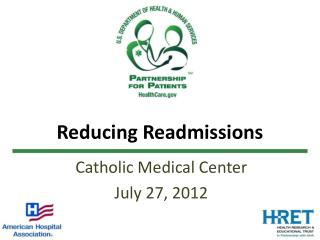 Reducing Readmissions