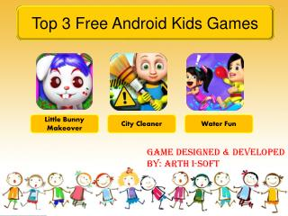 Top 3 Free Android Kids Games