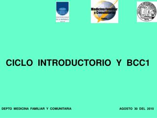 CICLO  INTRODUCTORIO  Y  BCC1