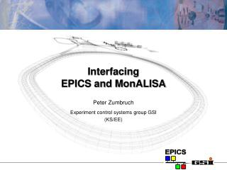 Interfacing  EPICS and MonALISA