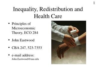 Inequality, Redistribution and Health Care