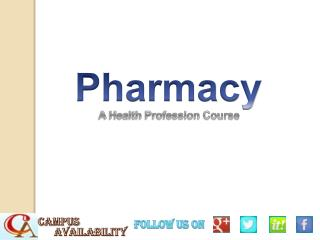 List of Pharmacy Colleges in India