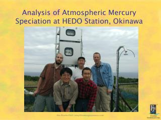 Analysis of Atmospheric Mercury Speciation at HEDO Station, Okinawa